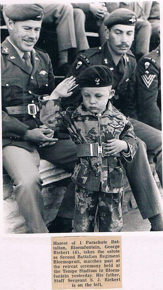 Mascot of 1 Para Bn during the 70's